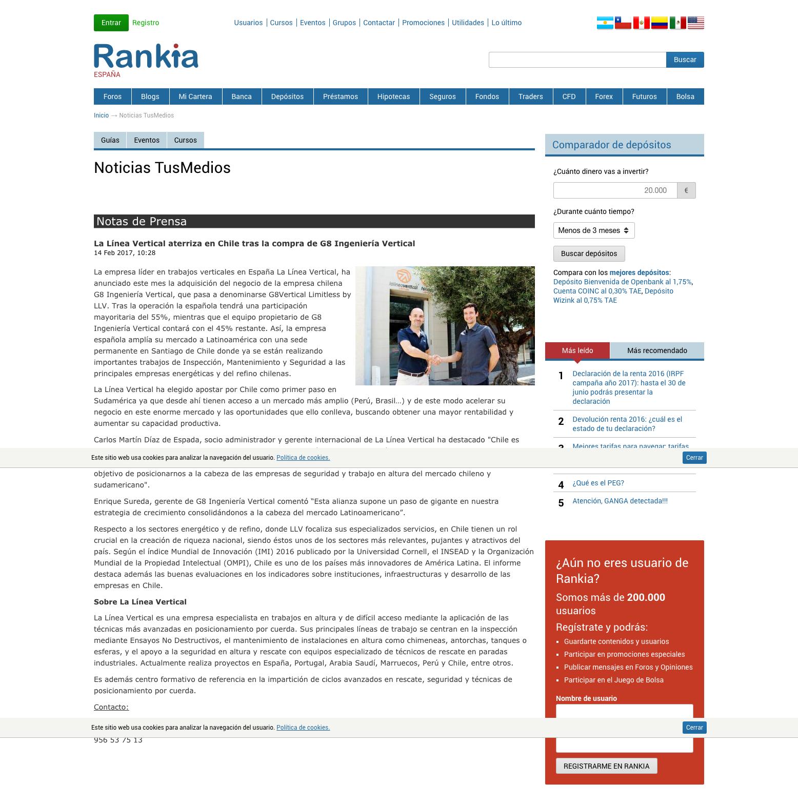 LLV en Rankia