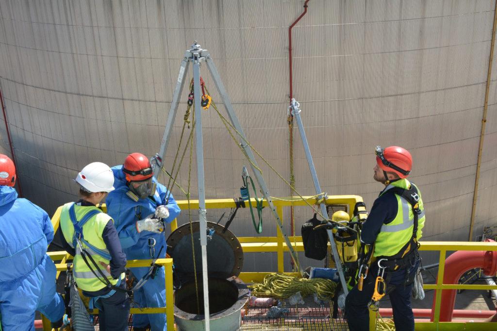 Proyecto de vital importancia: tanques de almacenamiento de combustibles