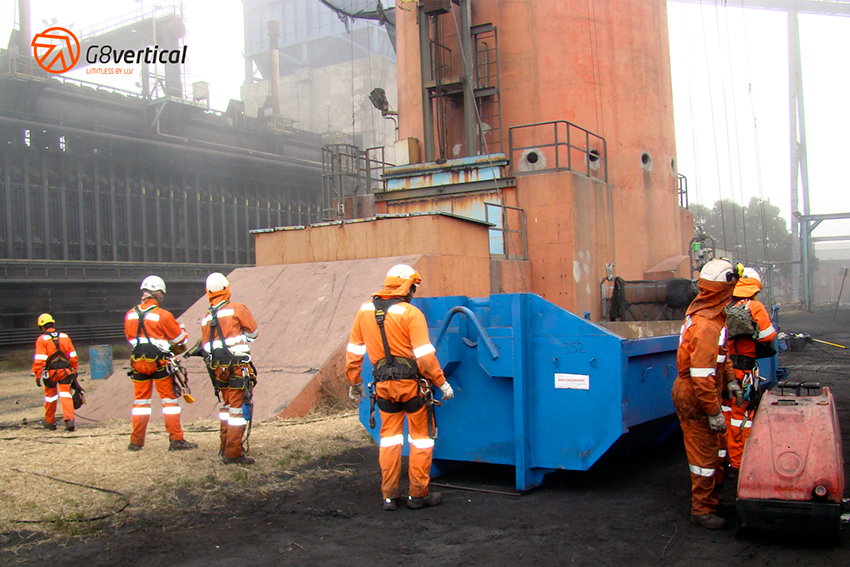 G8 Vertical, expertos en chimeneas industriales