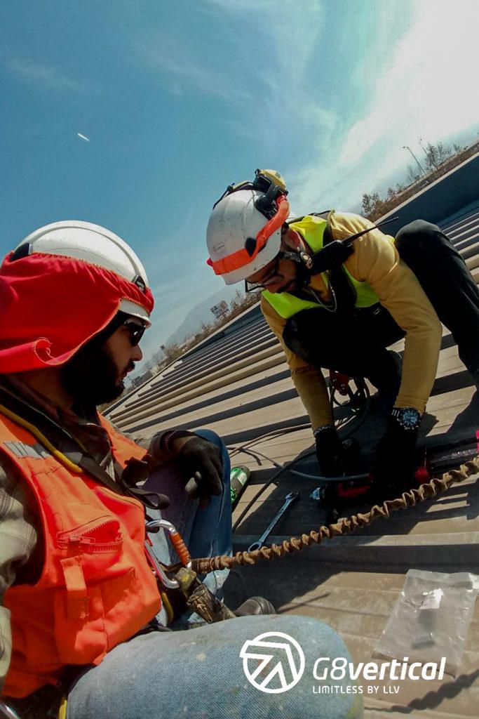 Consolidación como instaladores de líneas de vida 3M en Chile