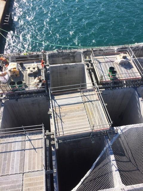 LLV colabora en la construcción de estructuras flotantes para Rusia