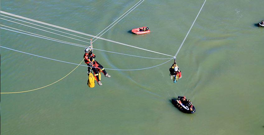 La Línea Vertical en Rescue Day