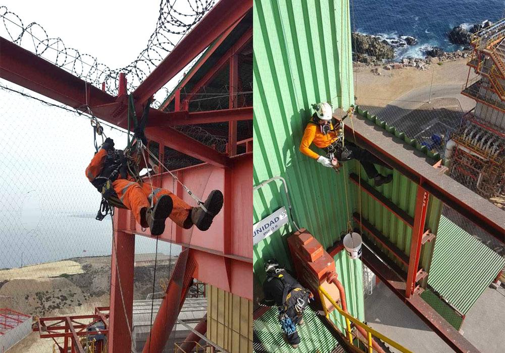 G8 VERTICAL participa en el mantenimiento industrial de una planta termoeléctrica de AES GENER
